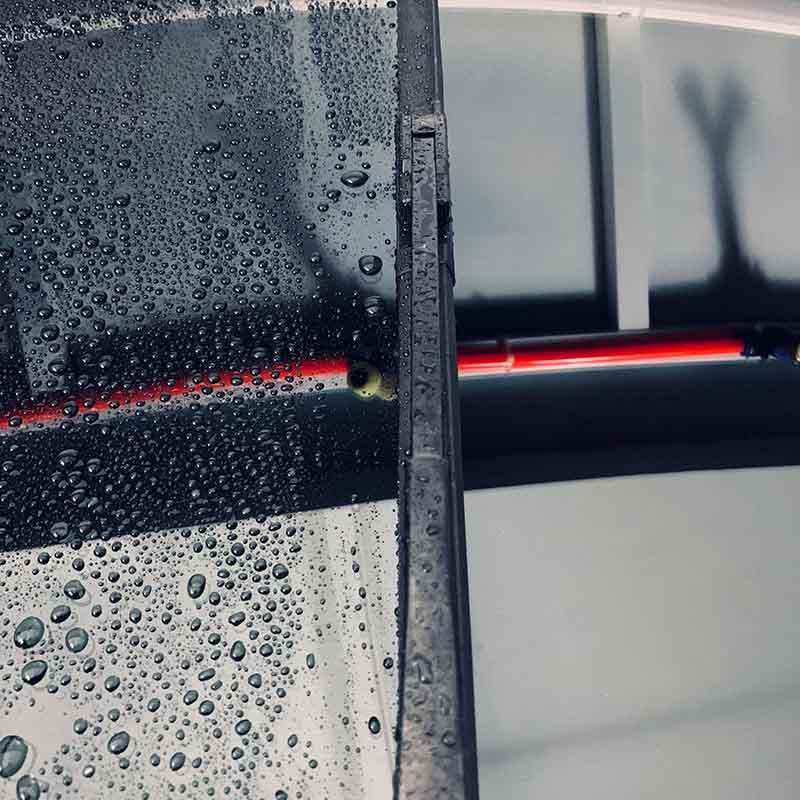 厂家直销多功能硅胶镀膜雨刷 三段式雨刷片静音